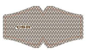 Mascherina CSR Merda marrone Studio Antani